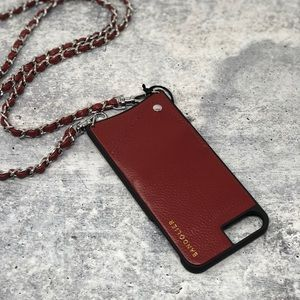 NEW Bandolier Lucy Leather iPhone 6 7 8 plus Case